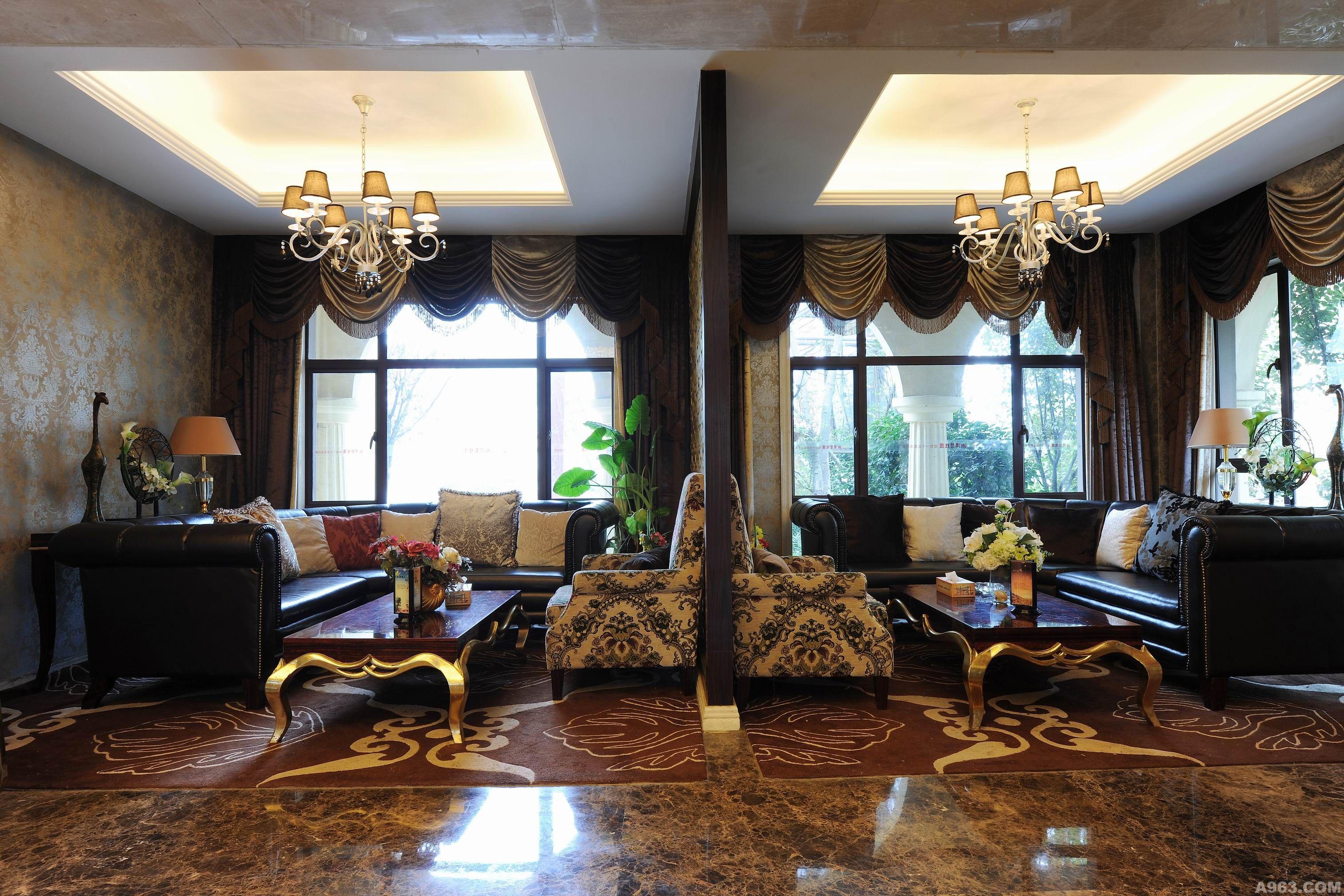 湘潭碧桂园营销中心---颜毅室内设计事务所说明