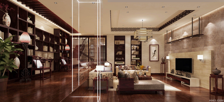 新中式 - 别墅豪宅 - 长沙室内设计网_长沙室内设计