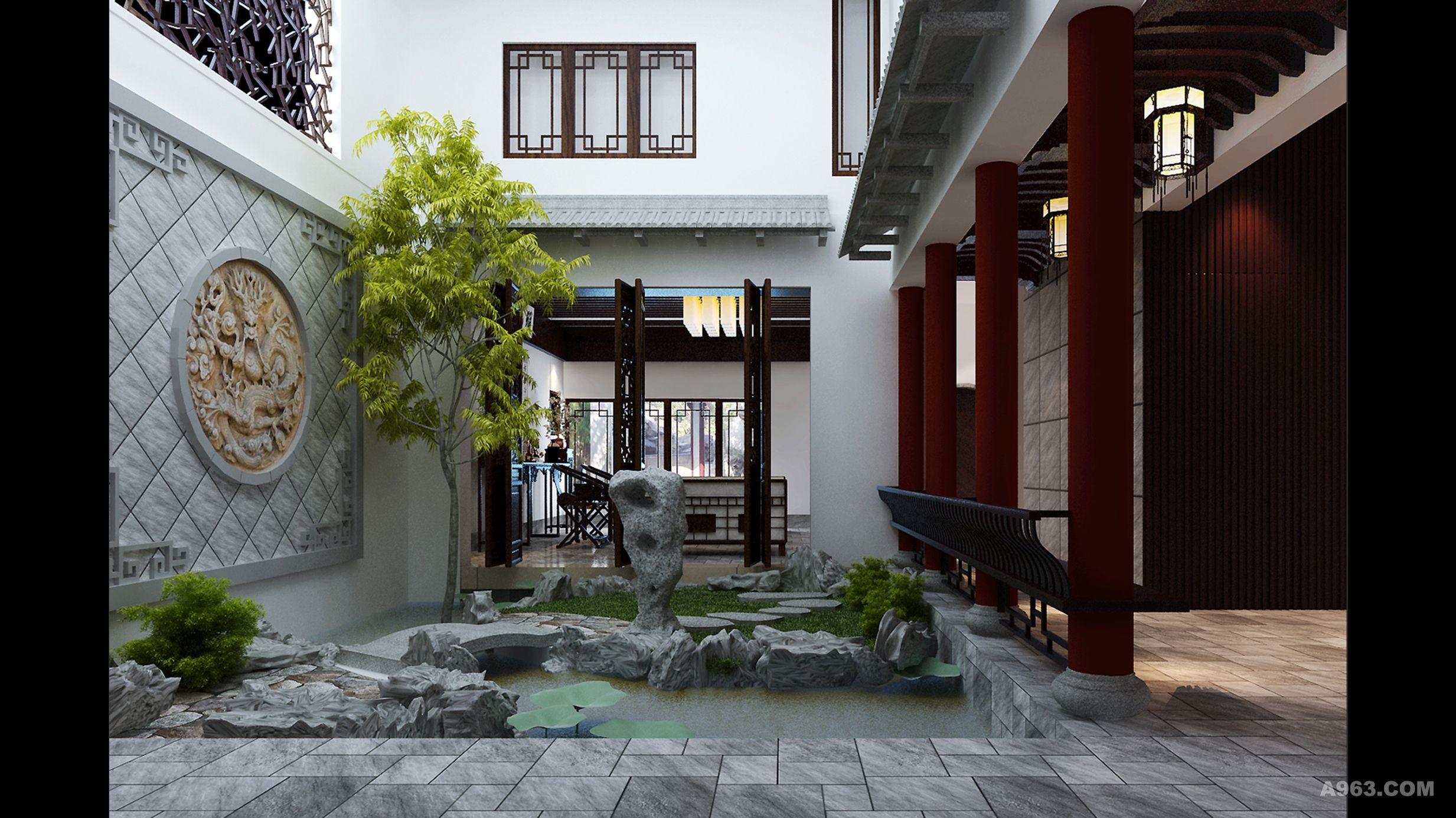 60平米庭院平面设计图