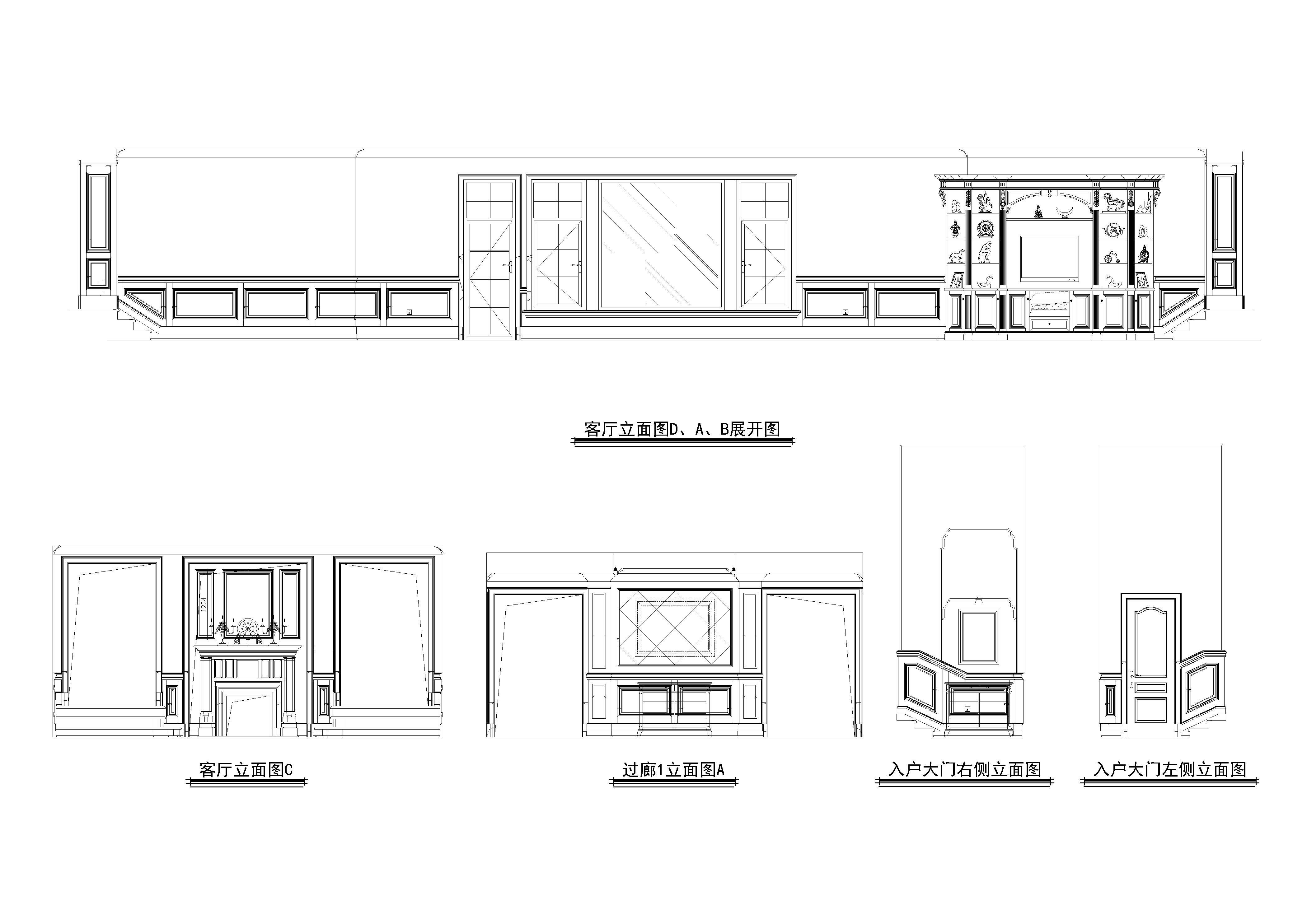 卧室平面图设计图纸